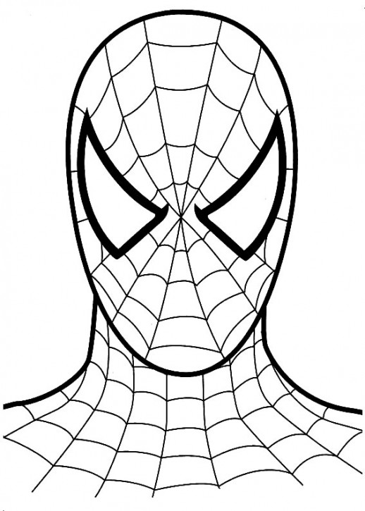 spiderman coloring pages easy spiderman easy drawing at getdrawings free download spiderman easy pages coloring