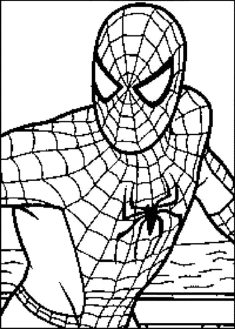 spiderman picture to color print download spiderman coloring pages an enjoyable spiderman picture color to