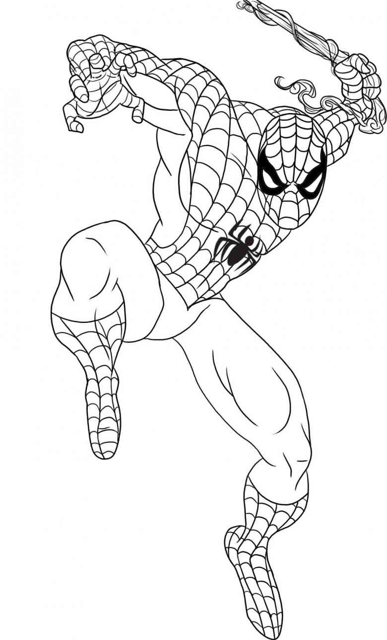 spiderman picture to color spider man coloring pages print and colorcom to spiderman color picture