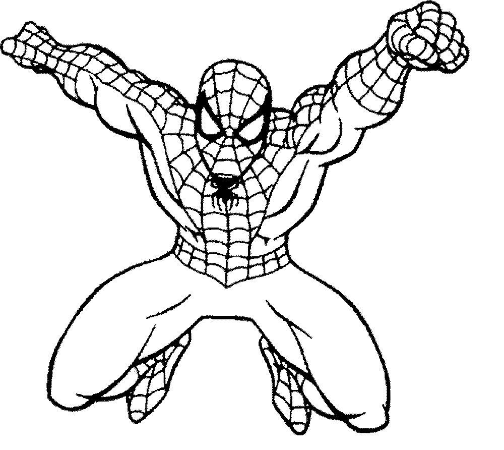 spiderman picture to color spiderman coloring page download for free print spiderman picture to color
