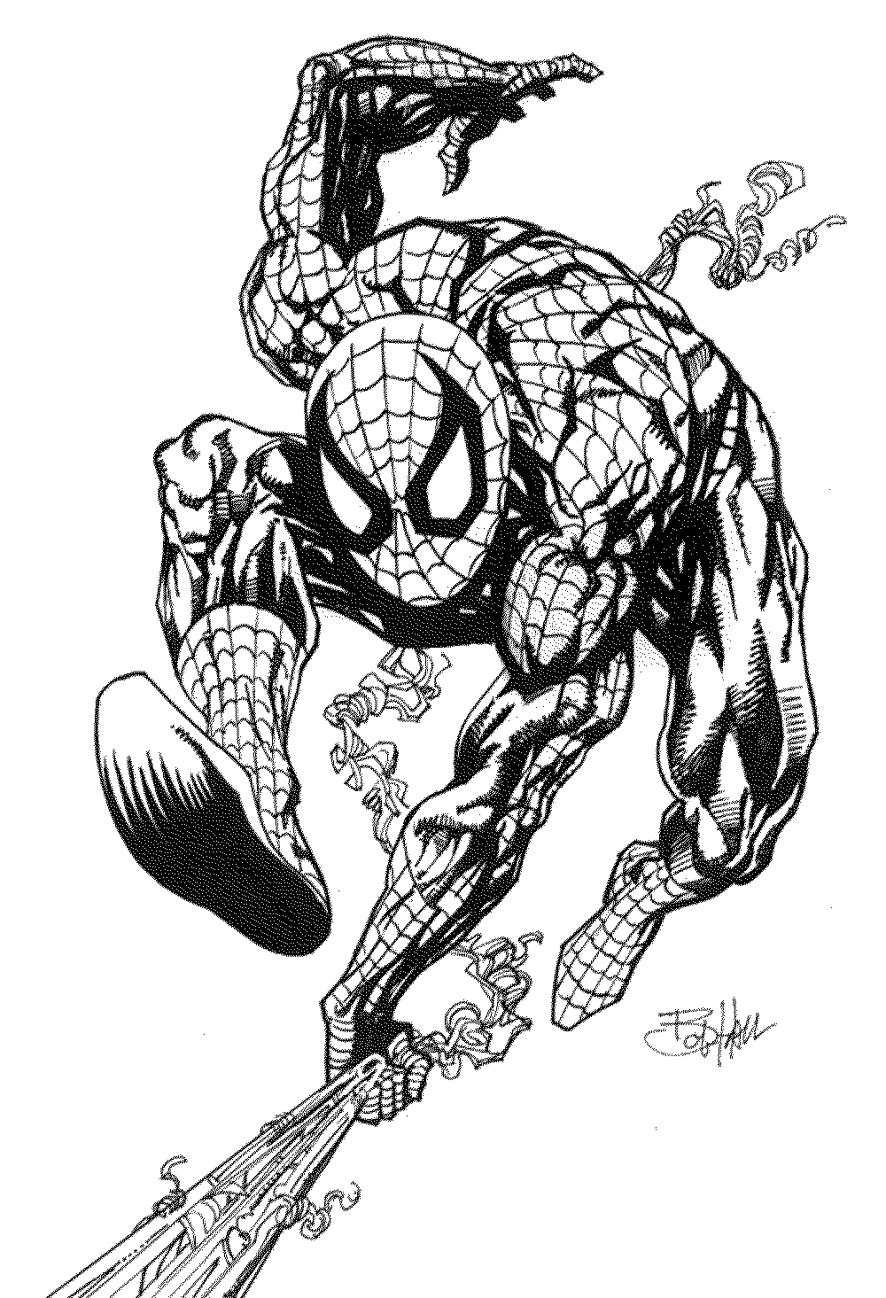 spiderman picture to color spiderman coloring pages download free coloring sheets picture spiderman color to