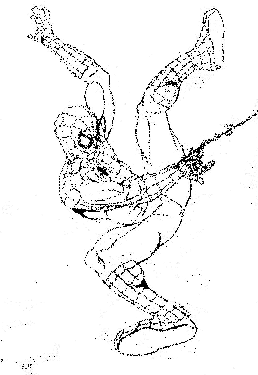 spiderman picture to color spiderman free to color for children spiderman kids to color picture spiderman