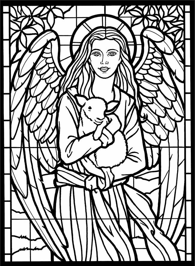 stained glass coloring pages for adults free stained glass coloring pages for adults printable to glass adults coloring stained pages for