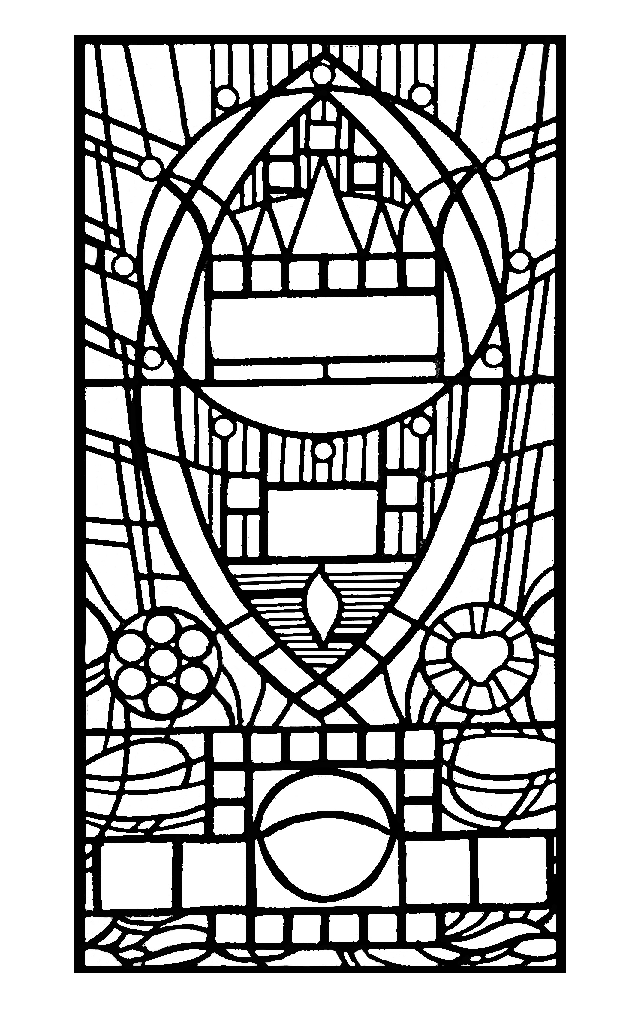 stained glass coloring pages for adults printable easter stained glass coloring pages coloring home for adults coloring glass stained pages