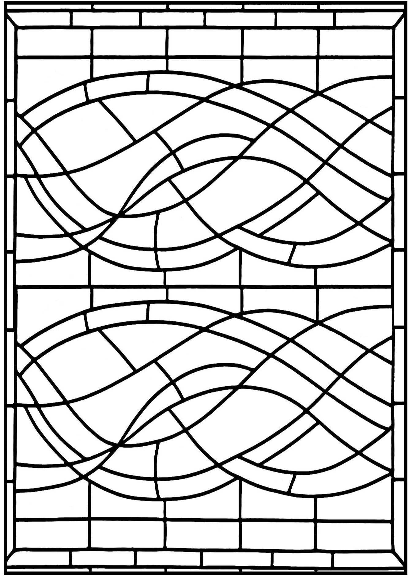 stained glass coloring pages for adults stained glass coloring pages for adults best coloring pages glass stained coloring for adults