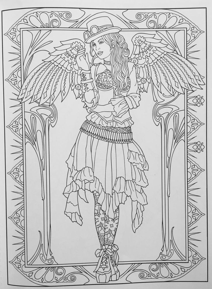 steampunk gothic fairy coloring pages 32 best draw dolphins images on pinterest dolphins fish steampunk pages coloring fairy gothic