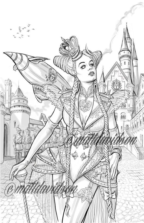 steampunk gothic fairy coloring pages download gothic 4 coloring for free designlooter 2020 coloring steampunk gothic pages fairy
