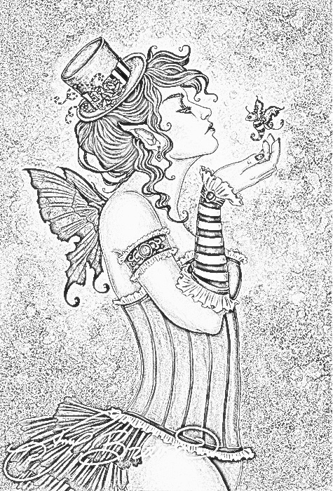 steampunk gothic fairy coloring pages steampunk gothic fairy coloring pages celebpicsgallery coloring steampunk fairy pages gothic