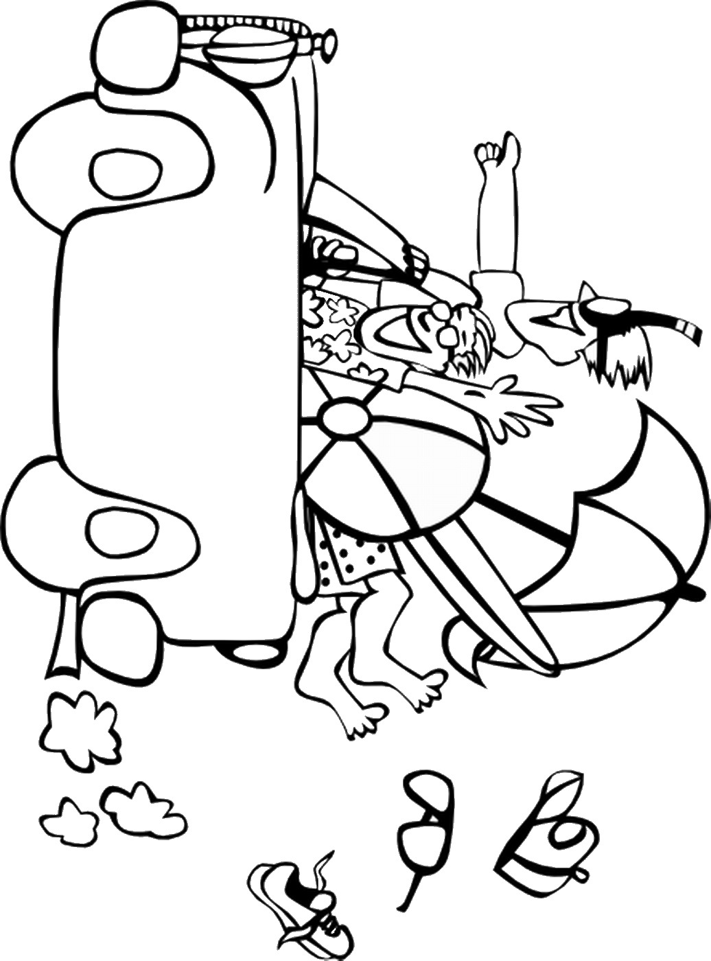 summer coloring pages free printable summer coloring page ausdruckbare pages summer coloring