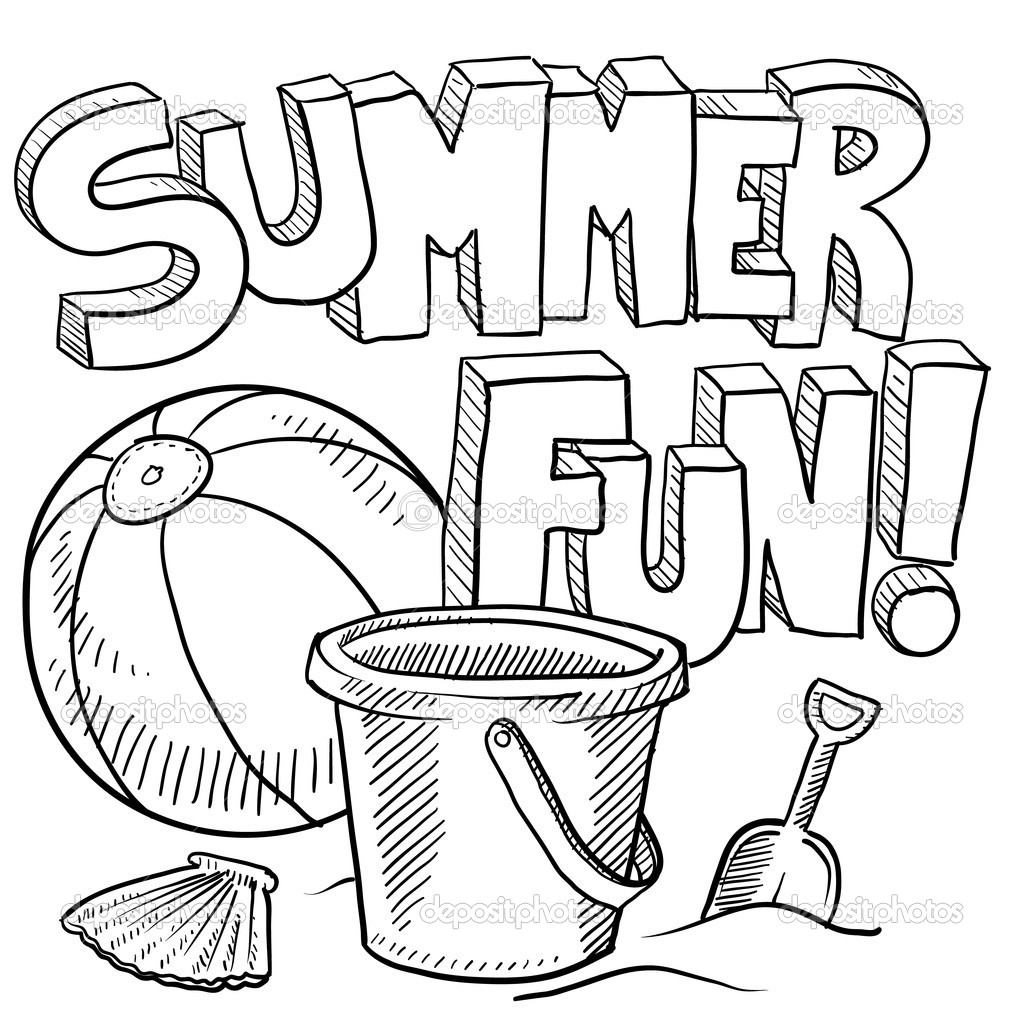summer coloring pages summer coloring pages to print summer pages coloring