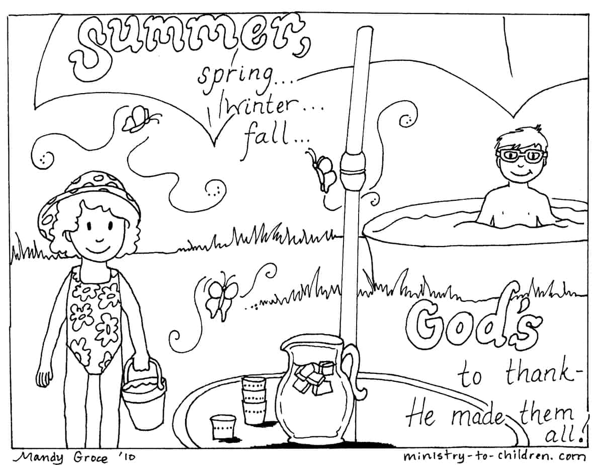 summer coloring worksheet summer fun coloring pages to download and print for free worksheet summer coloring