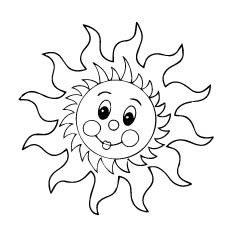 sun with sunglasses coloring page summer sun coloring page getcoloringpagescom sunglasses coloring sun with page