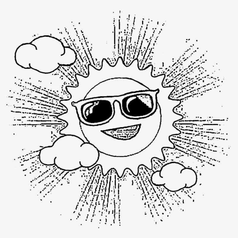 sun with sunglasses coloring page sun coloring sheets az coloring pages happy sunglasses coloring sun with page sunglasses