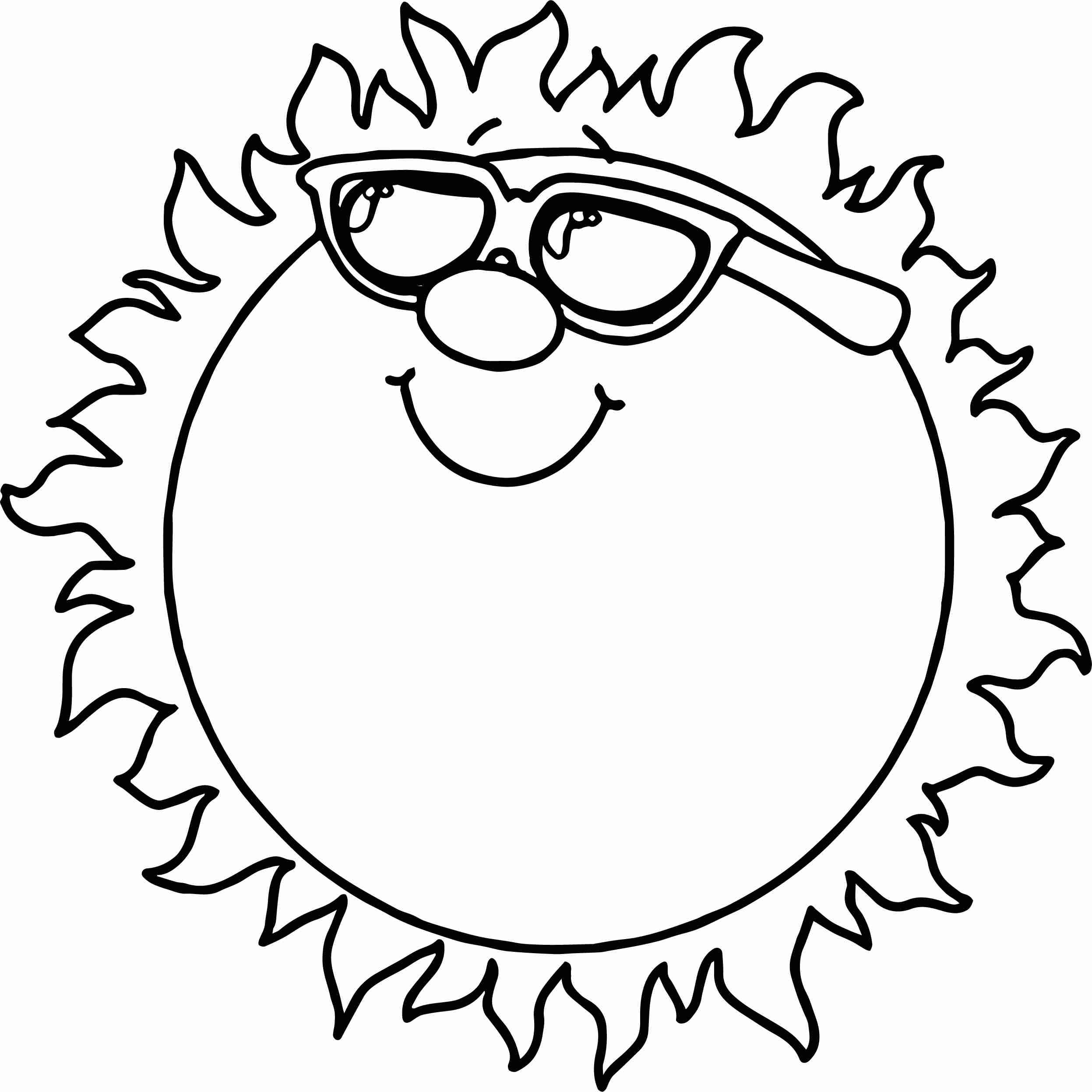 sun with sunglasses coloring page suns coloring pages coloringcrewcom coloring with page sunglasses sun