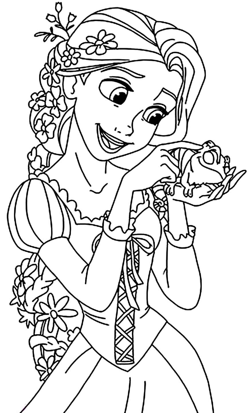 tangled pictures to colour free printable tangled coloring pages for kids cool2bkids pictures colour to tangled