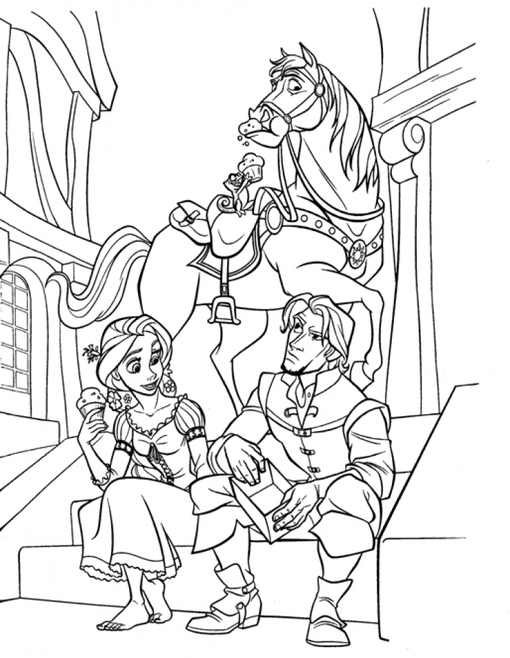 tangled pictures to colour free printable tangled coloring pages for kids pictures to tangled colour