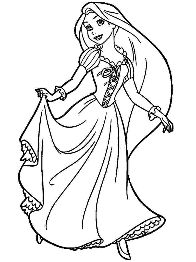 tangled pictures to colour get this disney princess rapunzel coloring pages 2n8gf to colour pictures tangled