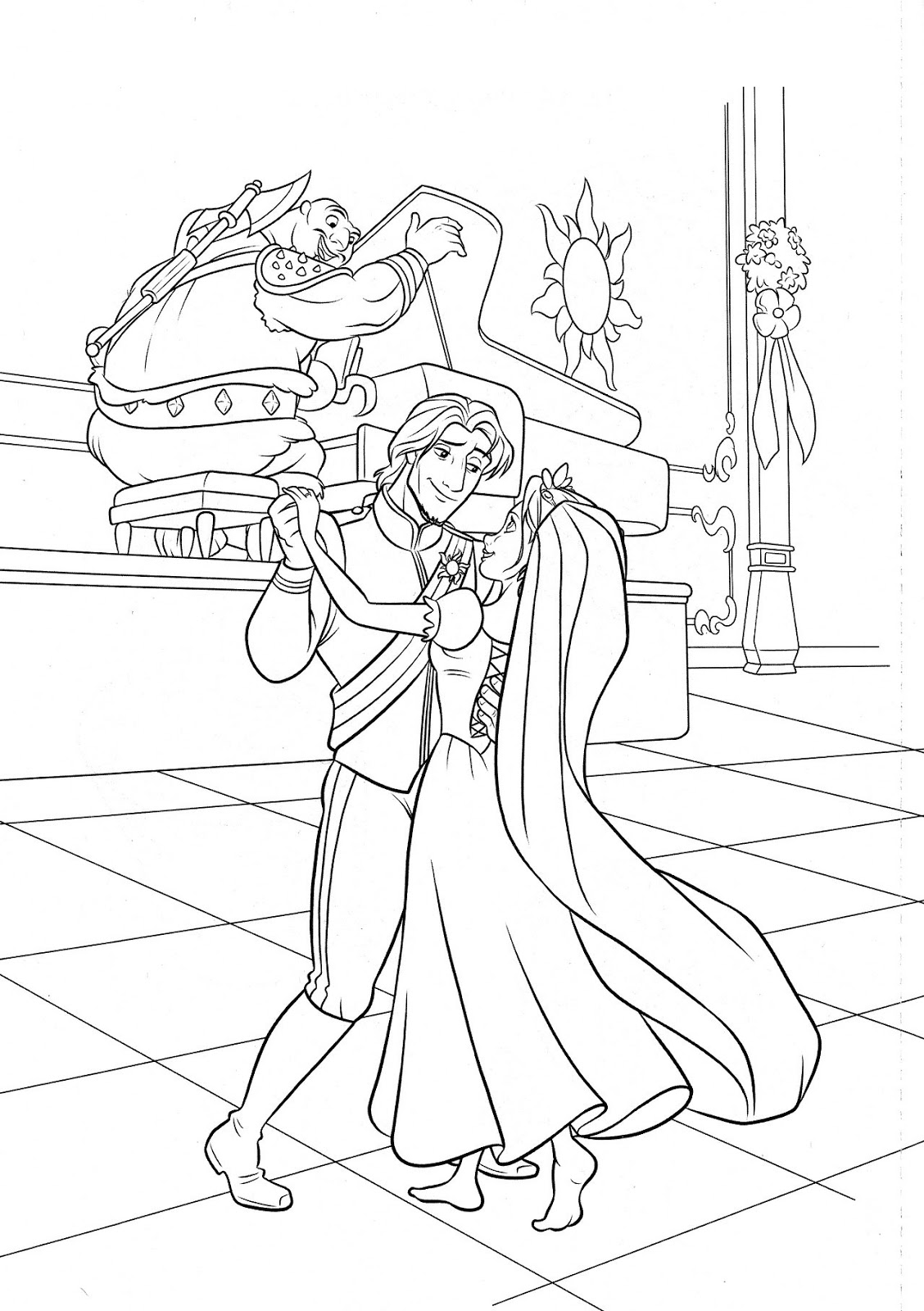 tangled pictures to colour rapunzel coloring pages coloring pages to download and print to pictures tangled colour