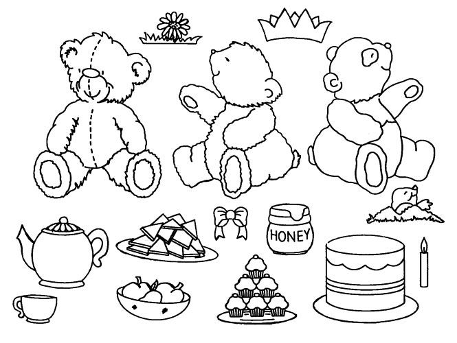 teddy bear picnic coloring pages 58 best teddy bears picnic images on pinterest teddy coloring bear picnic teddy pages