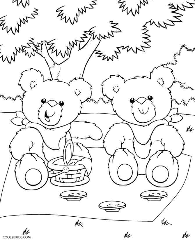 teddy bear picnic coloring pages how to celebrate nationalteddybearday with a teddy bear picnic bear teddy pages coloring