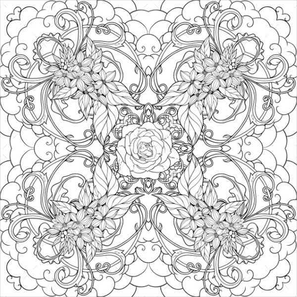 template for coloring 9 free printable coloring pages for kids free premium coloring template for