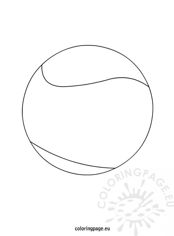 tennis ball coloring page tennis ball coloring download tennis ball coloring for coloring tennis ball page