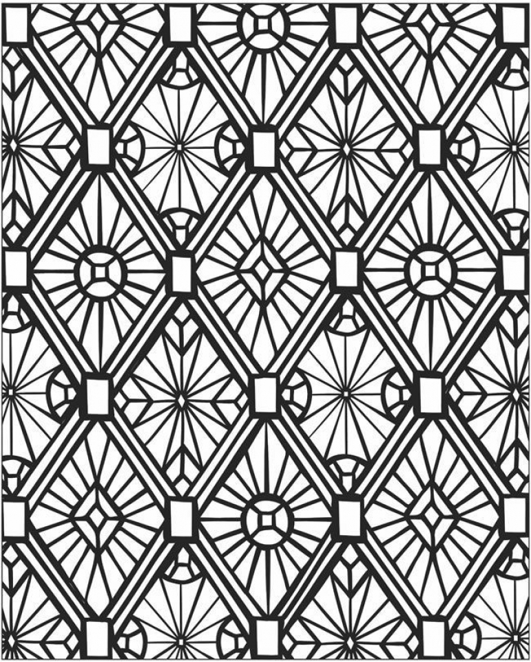 tessellations coloring pages download tessellation coloring pages geometric pages tessellations coloring