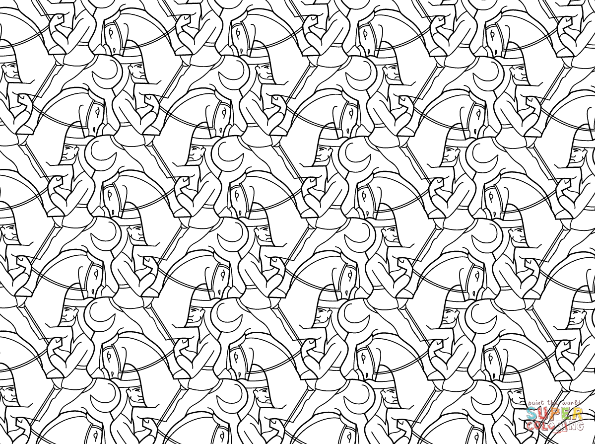 tessellations coloring pages get this free tessellation coloring pages adult printable tessellations pages coloring