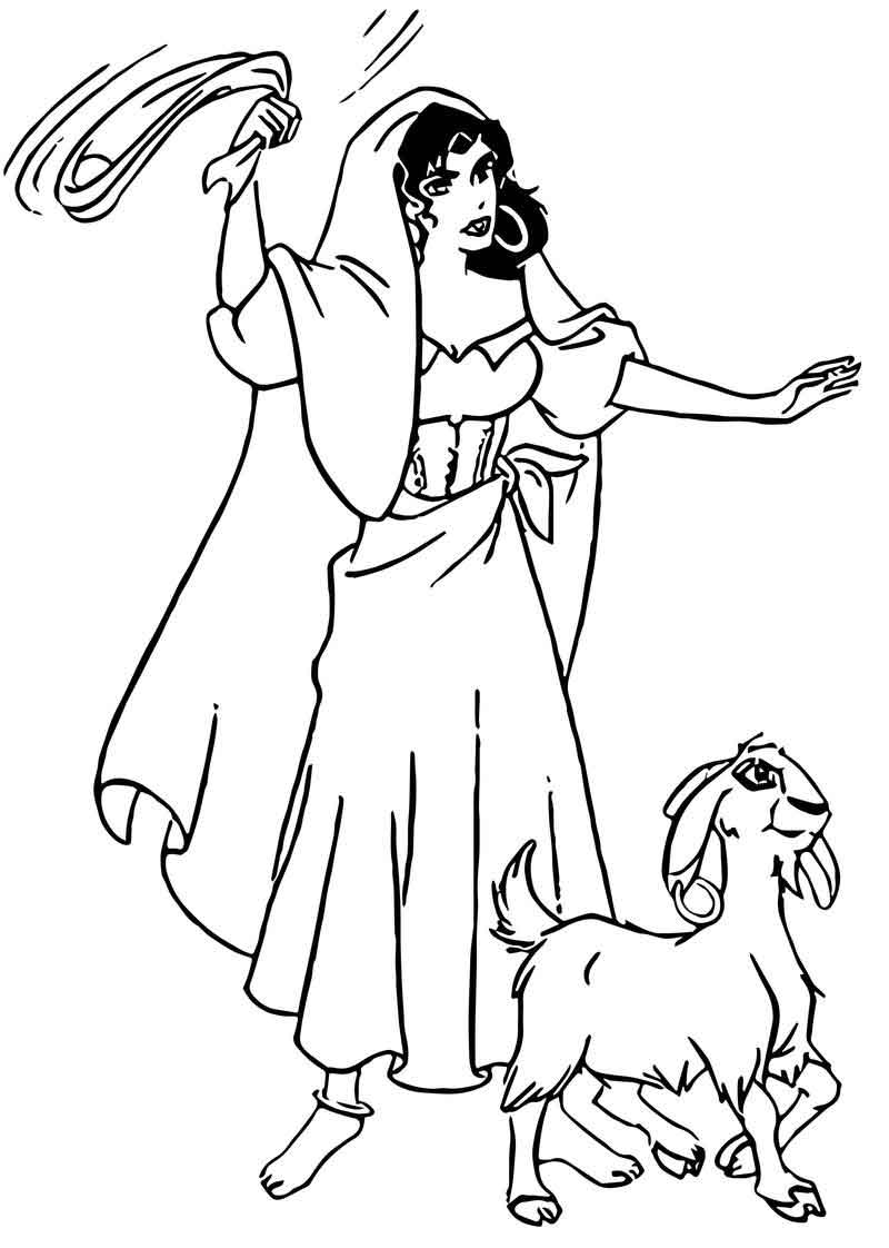 the hunchback of notre dame coloring pages the hunchback of notre dame hunchback2 coloring page dame hunchback pages notre coloring the of