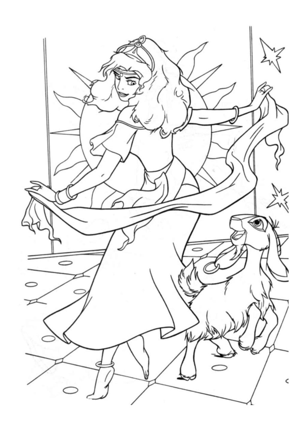 the hunchback of notre dame coloring pages the hunchback of the notre dame coloring pages pages coloring notre hunchback of dame the