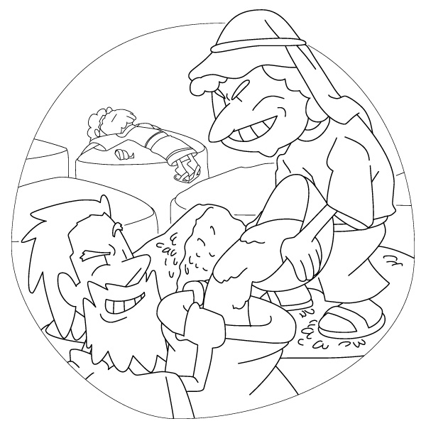 the rich fool coloring page parable of the rich fool coloring page coloring pages fool rich page the coloring