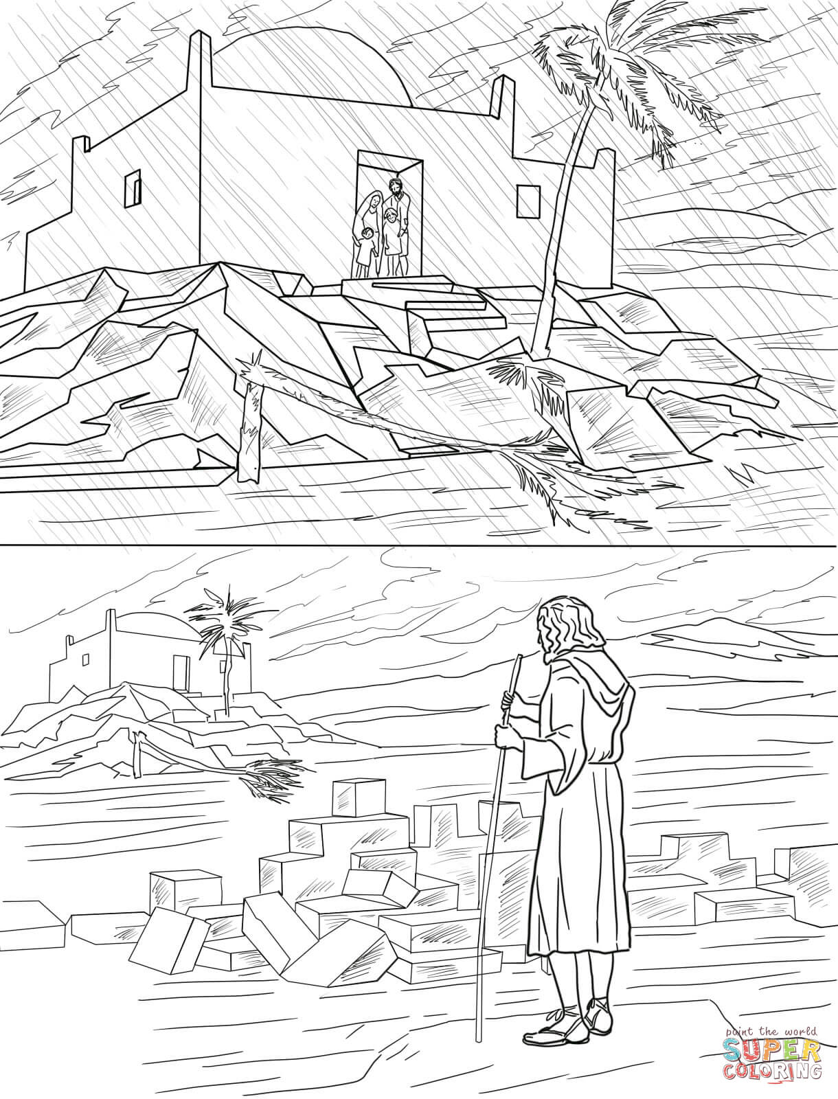 the rich fool coloring page the parable of the rich fool all sundayschoolist page rich coloring the fool