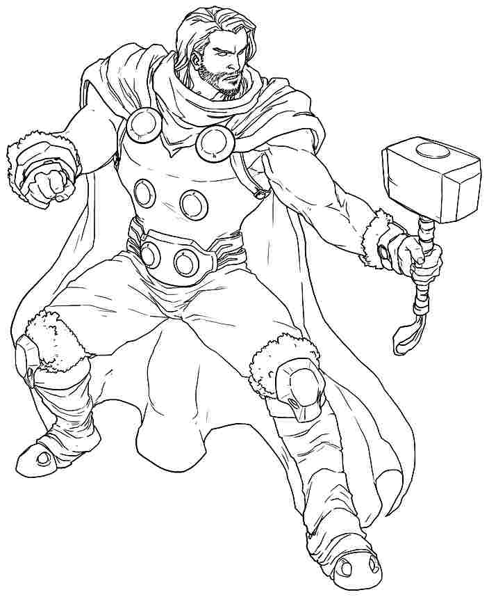 thor coloring pages thor coloring pages to download and print for free pages thor coloring