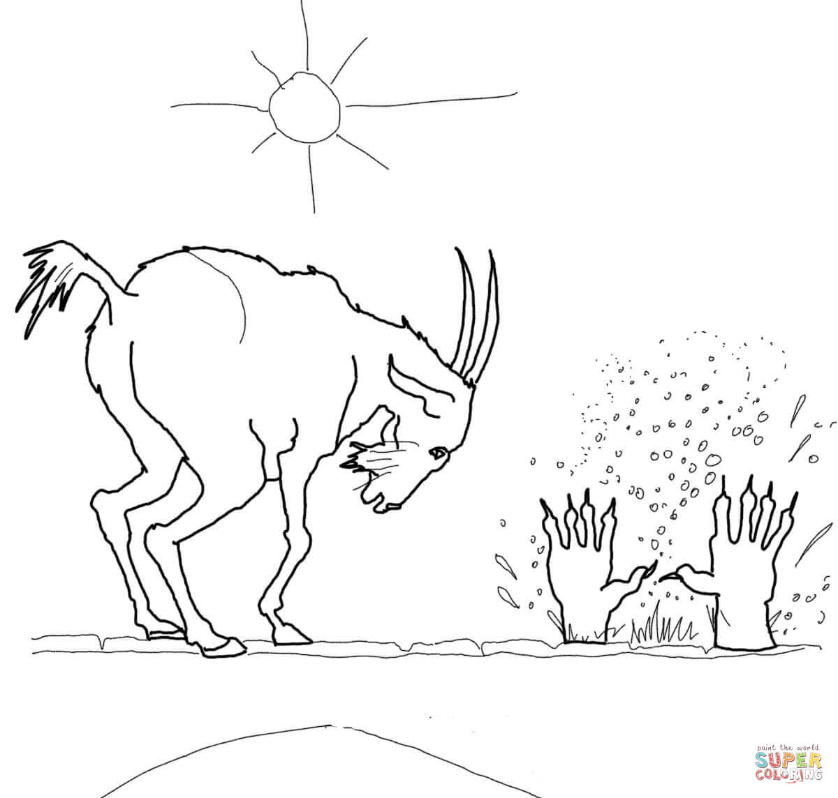 three billy goats gruff coloring pages billy goats gruff coloring page big billy goat troll gruff coloring goats billy three pages