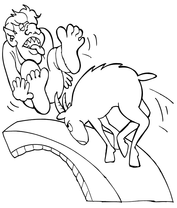 three billy goats gruff coloring pages the three billy goats gruff coloring pages coloring home billy gruff coloring goats three pages