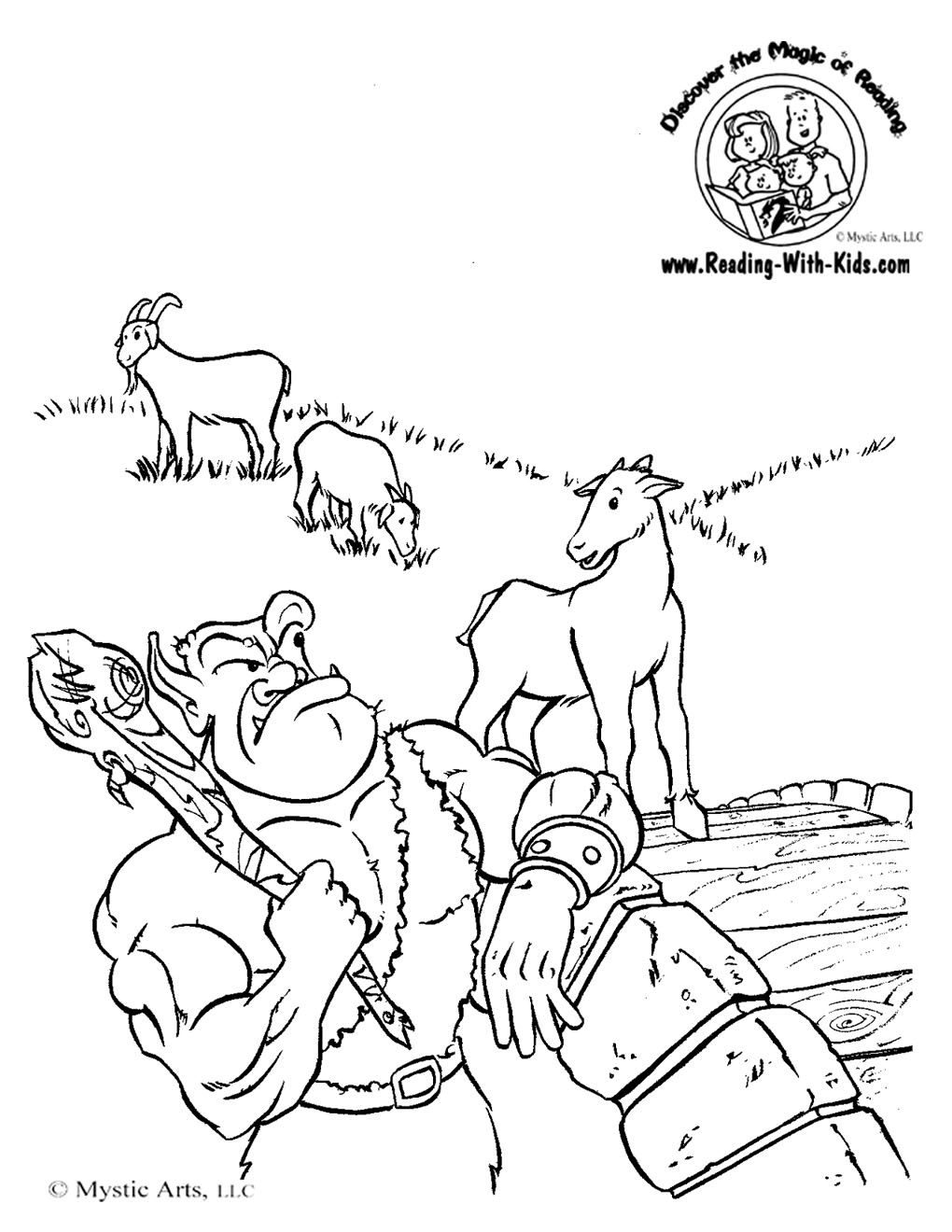 three billy goats gruff coloring pages the three billy goats gruff coloring pages coloring home pages gruff coloring three billy goats
