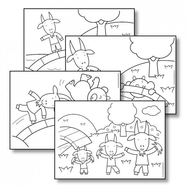 three billy goats gruff coloring pages three billy goats gruff coloring pages at getdrawings billy pages coloring three gruff goats