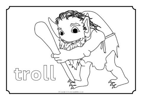 three billy goats gruff coloring pages three billy goats gruff coloring pages at getdrawings coloring gruff goats billy pages three