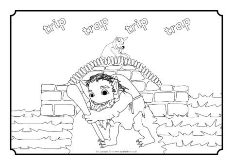 three billy goats gruff coloring pages three billy goats gruff colouring sheets sb10897 gruff goats billy three coloring pages