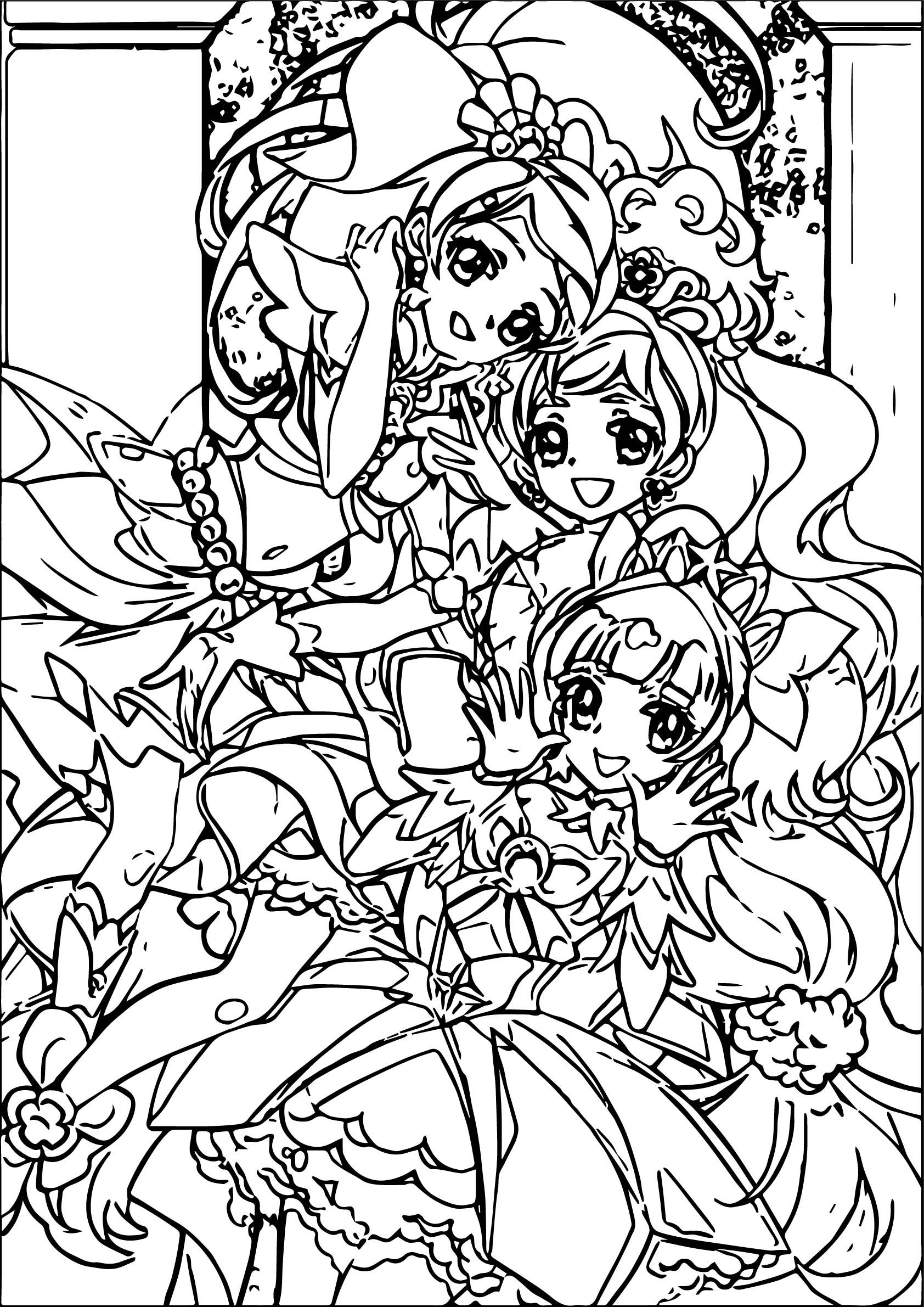 three girls coloring page best friends coloring pages best coloring pages for kids three page coloring girls