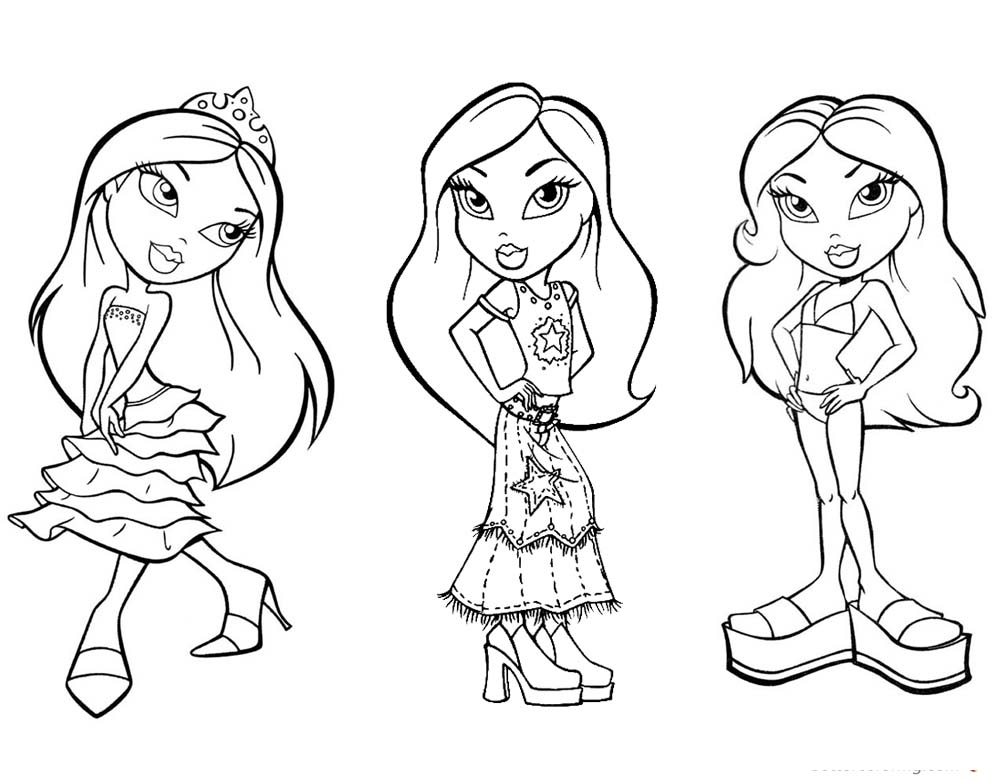three girls coloring page three best friends jaebaebaby wattpad three coloring girls page