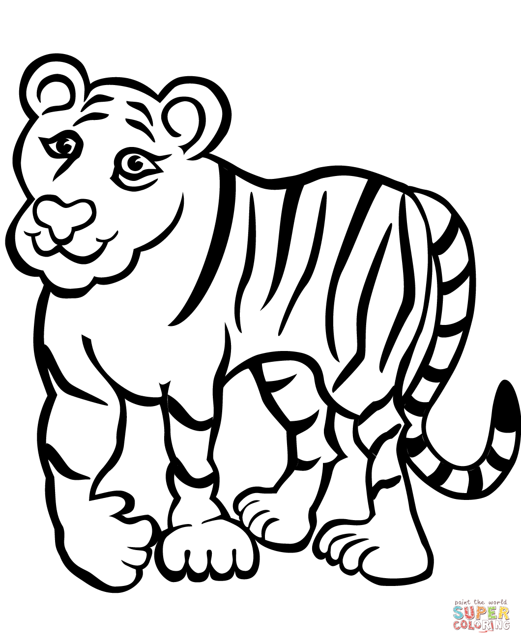 tiger coloring book pages sad tiger coloring page free printable coloring pages coloring book tiger pages