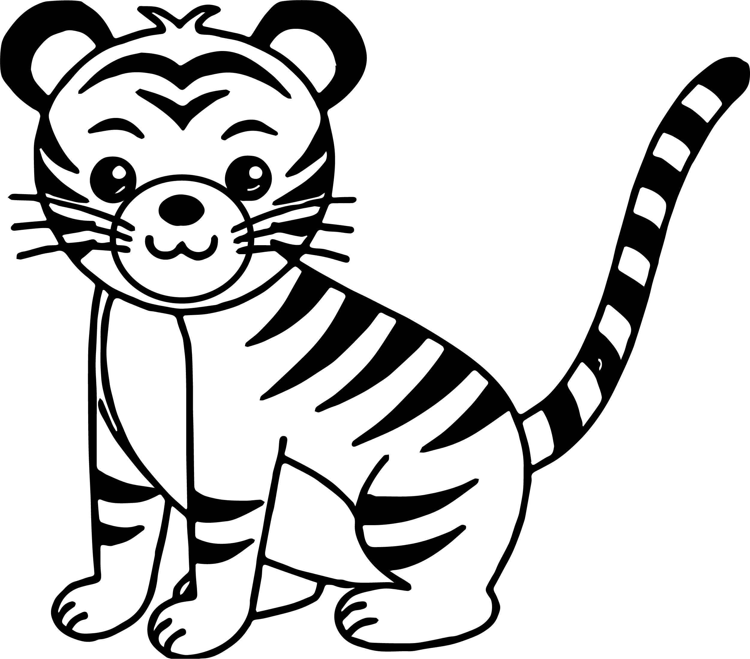 tiger colouring pictures tiger coloring pages free download on clipartmag pictures colouring tiger