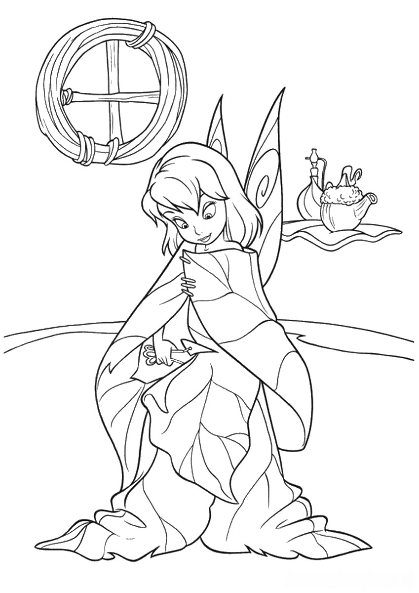 tinkerbell colouring in coloring pages tinkerbell coloring pages and clip art in colouring tinkerbell