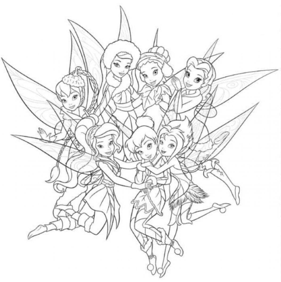tinkerbell colouring in cute collection of tinkerbell coloring pages to print in tinkerbell colouring in