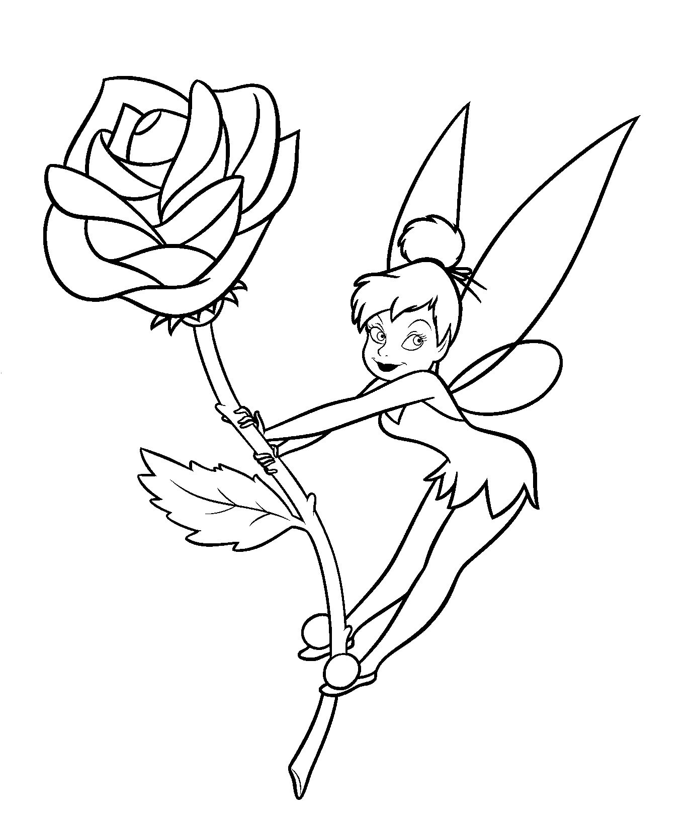 tinkerbell colouring in tinkerbell coloring pages team colors tinkerbell colouring in