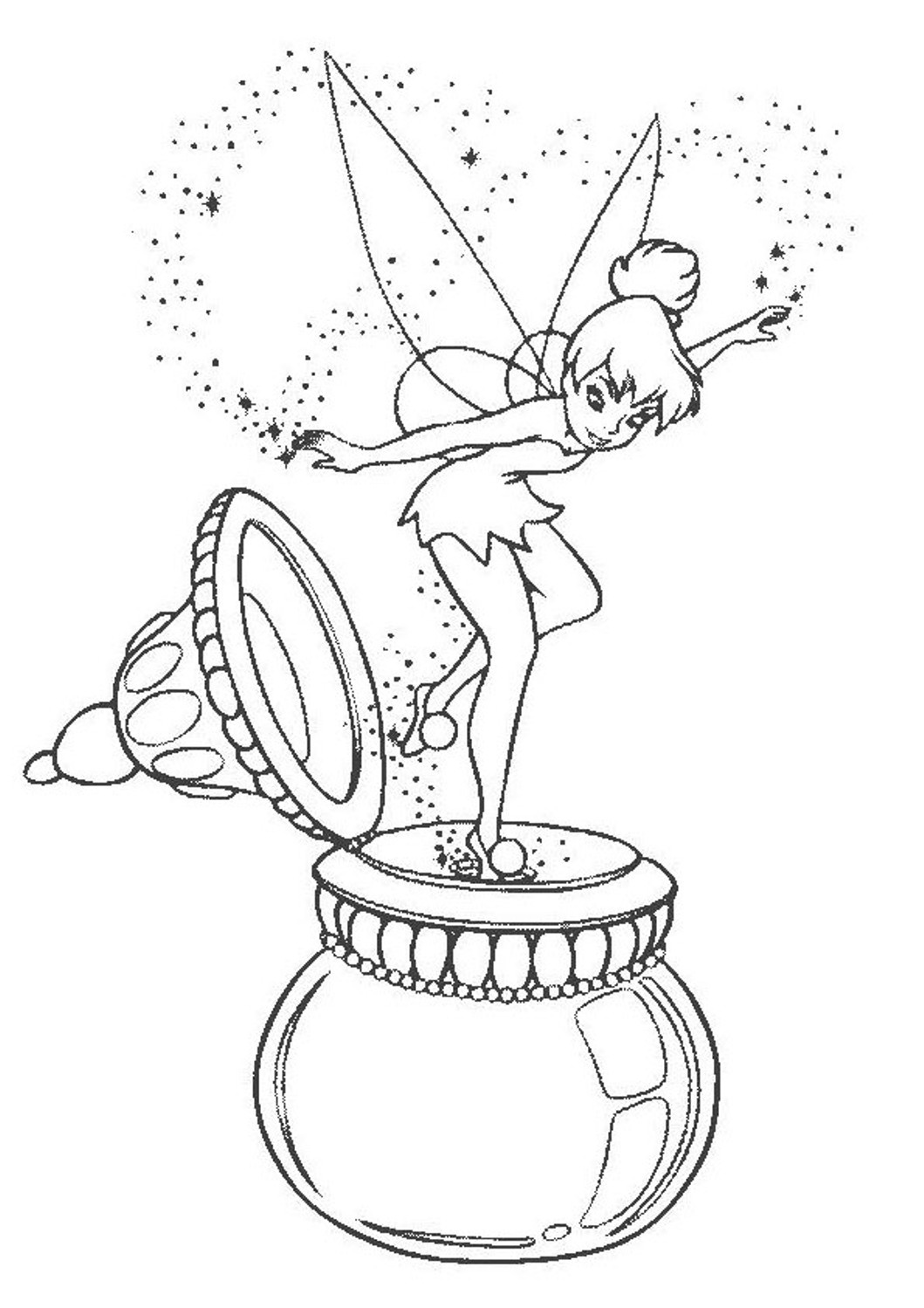 tinkerbell colouring in tinkerbell coloring pages to print coloring pages tinkerbell colouring in