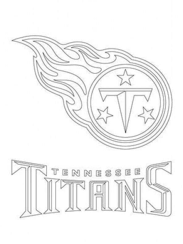 titans logos free tennessee titans logo coloring page from nfl category titans logos free