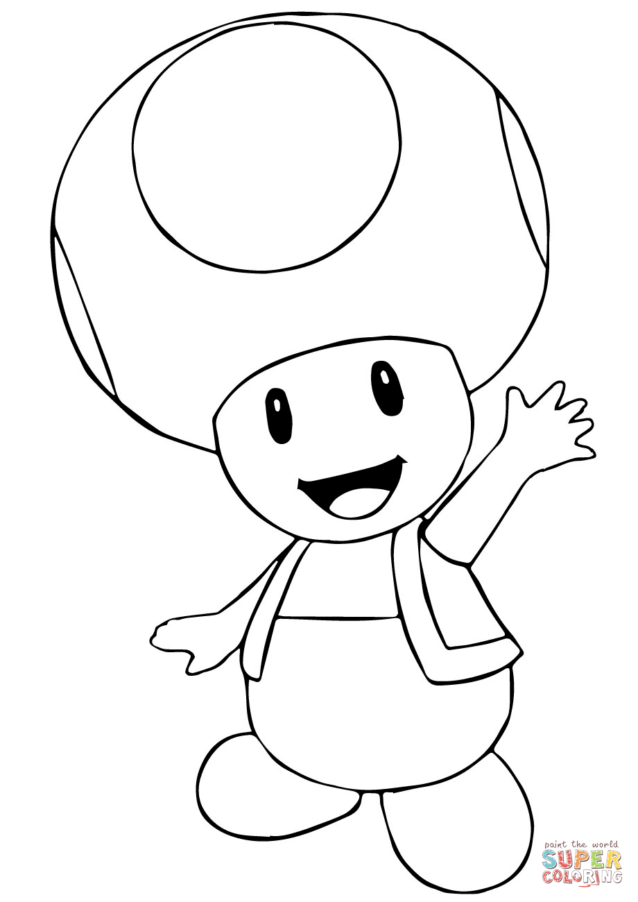 toad coloring pages from super mario 13 pics of toad mario coloring pages super mario toad pages coloring mario from toad super