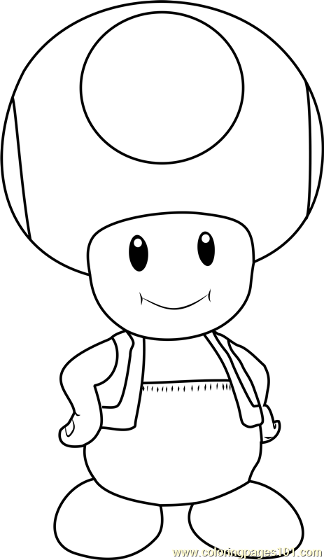 toad coloring pages from super mario easy mario drawing free download on clipartmag toad coloring mario from pages super